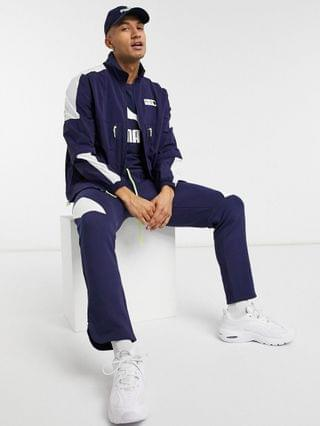 Puma graphic track jacket in navy