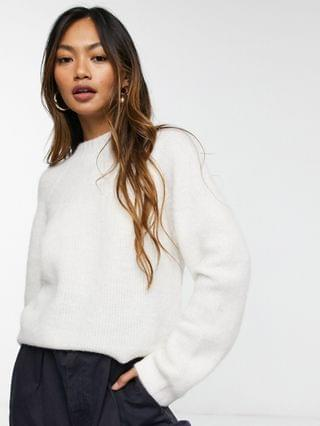 WOMEN & Other Stories sweater in off-white