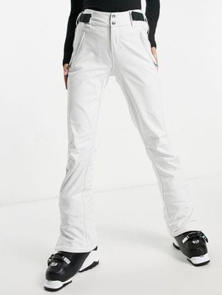 WOMEN Protest Lole softshell ski pant in white