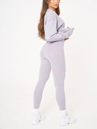 WOMEN The Couture Club fitted leggings in gray