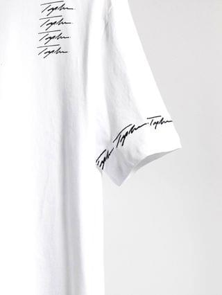 Topman signature placement print t-shirt in white