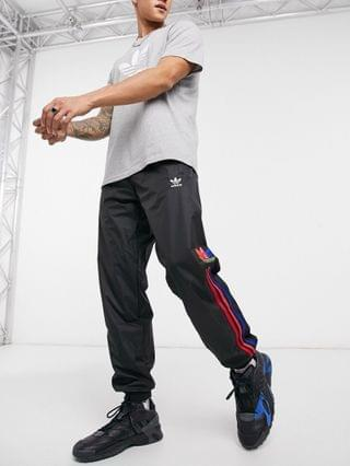 adidas Originals 3D sweatpants with 3 stripes in black