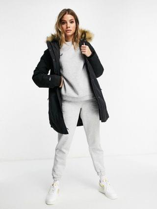 WOMEN The North Face Outer parka in black