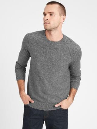 MEN Organic Cotton Raglan Sweater