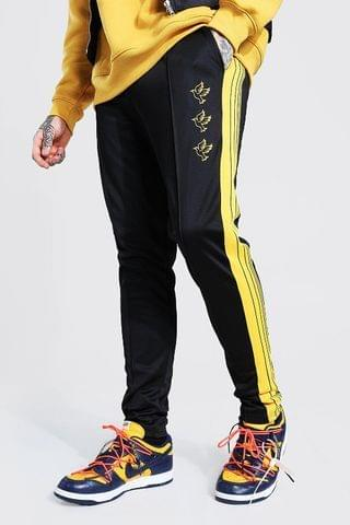 MEN Dove Embroidered Tricot Tape Jogger