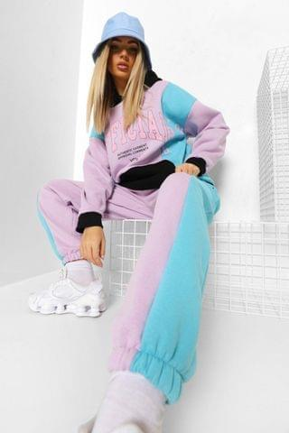 WOMEN Colour Block Official Hooded Tracksuit