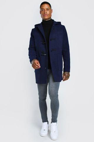 MEN DUFFLE COAT WITH TOGGLES