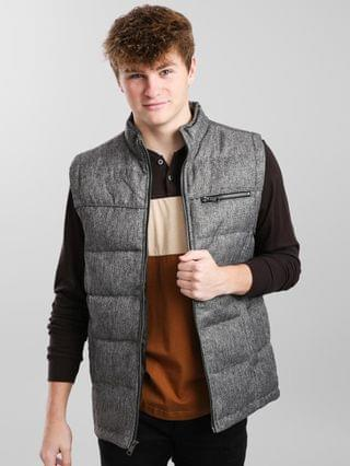 MEN BKE Quilted Mock Neck Vest