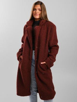 WOMEN Ashley Sherpa Dress Coat