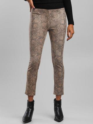 WOMEN Have Fashion Snake Print Pant