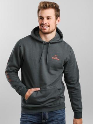 MEN Brixton Alpha Vertical Hooded Sweatshirt