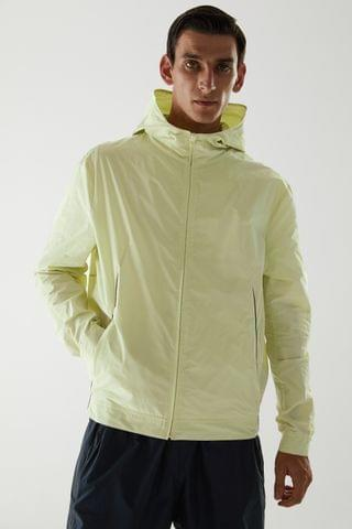 MEN RECYCLED POLYESTER NEON TECHNICAL JACKET