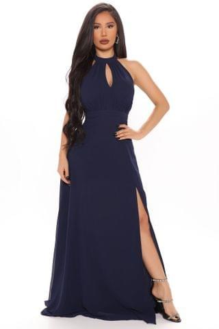 WOMEN Love All Of You Maxi Dress - Navy