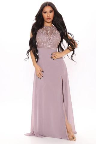 WOMEN Marlene Maxi Dress - Mauve