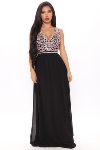 WOMEN Pricilla Maxi Dress - Black/combo