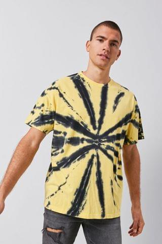 MEN Tie-Dye Graphic Tee