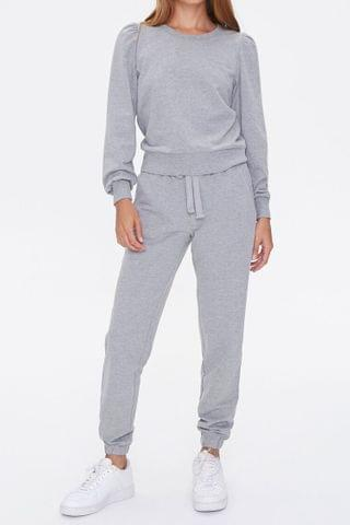 WOMEN French Terry Top & Joggers Set