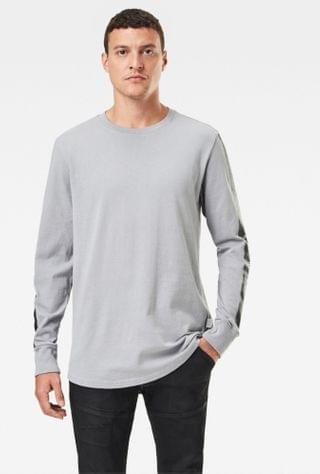MEN Gs Raw Sleeve Logo T-Shirt