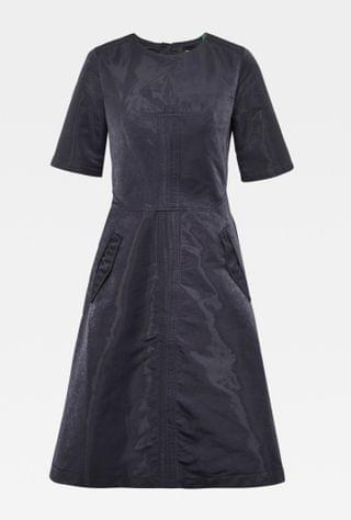 WOMEN Fit and Flare Dress