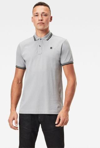MEN Dunda Slim Striped Polo