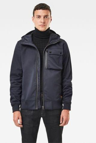 MEN Utility Hooded Softshell Jacket