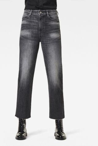 WOMEN Tedie Ultra High Straight Raw Edge Ankle Jeans