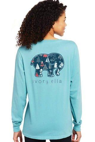 WOMEN Winter Wonderland Long Sleeve T-shirt