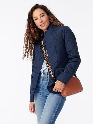 WOMEN Quilted Regent blazer-jacket with PrimaLoft