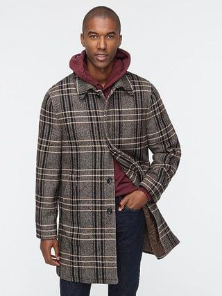 MEN Ludlow car coat in wool blend