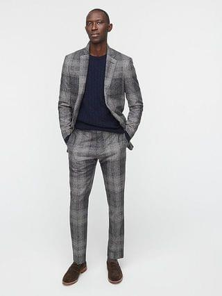 MEN Ludlow Slim-fit suit jacket in Japanese wool-silk blend