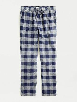 MEN Flannel lounge pant in buffalo check