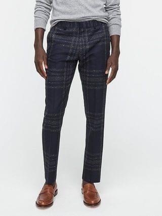 MEN Ludlow Slim-fit suit pant in Japanese wool-silk blend