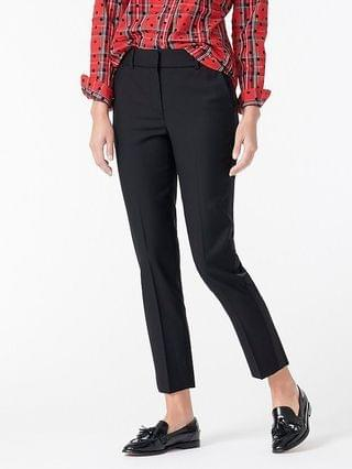 WOMEN Collection Cameron slim crop pant with tuxedo stripe