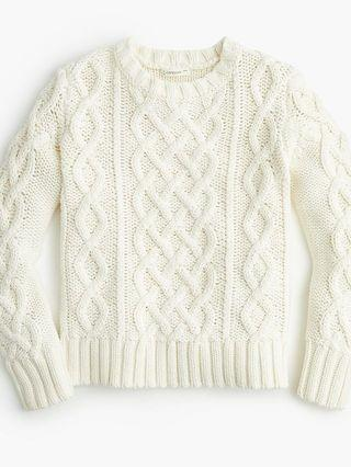 KIDS Kids' cable-knit sweater
