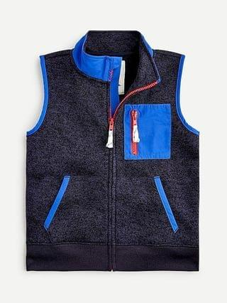 KIDS Kids' fleece vest