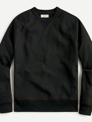 MEN Wallace & Barnes heritage fleece sweatshirt