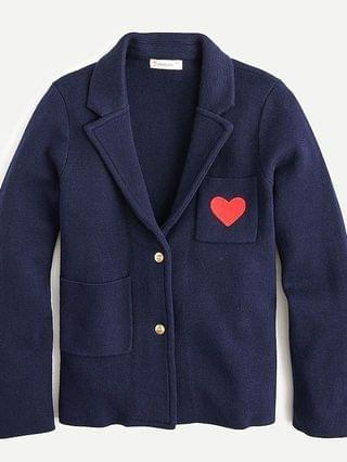 KIDS Girls' sweater-blazer