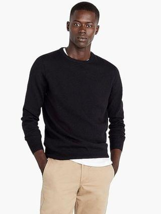 MEN Everyday cashmere crewneck sweater in solid