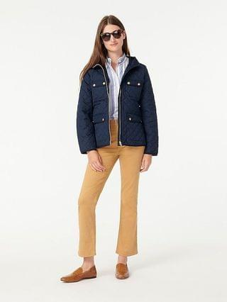 WOMEN Quilted field jacket with PrimaLoft