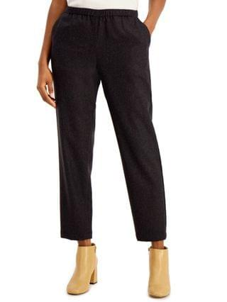 WOMEN Tapered Pull-On Ankle Pants
