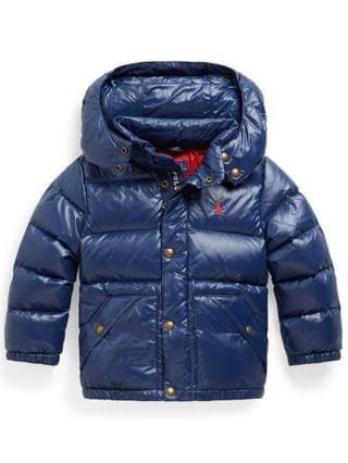 KIDS Little Boys Water Repellent Down Jacket