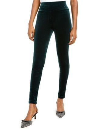 WOMEN I.N.C. International Concepts Petite Velvet Pull-On Skinny Pants, Created for Macy's