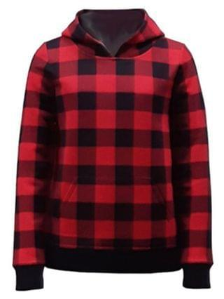 WOMEN Unisex Big Kids, Little Kids Plaid Hoodie, Created for Macy's