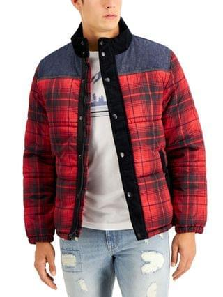 MEN Earl Colorblocked Plaid Jacket, Created for Macy's