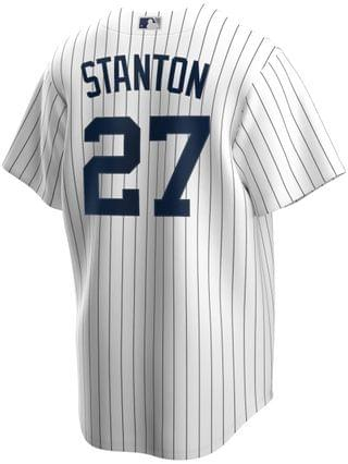 MEN Giancarlo Stanton New York Yankees Official Player Replica Jersey