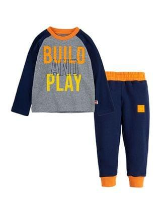 KIDS LEGO Little Boys Thermal Shirt and Joggers Set