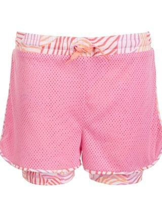 KIDS Big Girls Mesh Layered-Look Shorts, Created for Macy's