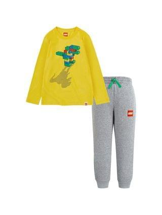 KIDS LEGO Little Boys T-shirt and French Terry Joggers Set
