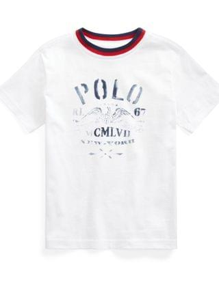 KIDS Little Boys Cotton Jersey Graphic T-shirt