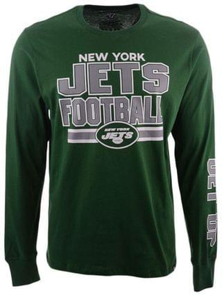 MEN New York Jets Dub Stack Super Rival Long Sleeve T-Shirt